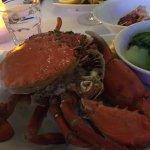 This crab speaks for itself; it speaks volumes.