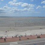 vue de la baie à marée basse