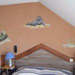 le mur peint de la chambre 41