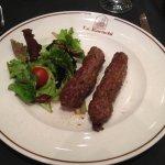 Sheek Kabab : Brochette de viande hachée aux herbes et épices