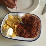 Chilli beef & nachos
