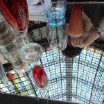 La table, avec miroir intégré