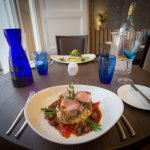 Our newly refurbished dining room with stunning menu, Roy's at the Invicta Hotel