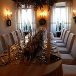 A private dining area that was simply exquisite with its attention to detail