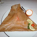 Crêpe saumon