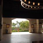 Open air lobby