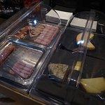 Assortiment du Petit-Déjeuner (Assortiment de viandes froides et fromages)
