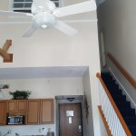 Great 1-week accommodations for 4, 2 story townhouse, parlor w/pull out sofa, kitchen & dining a
