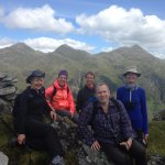 Aigas guests on our Walking & Wildlife programmes in Glen Shiel