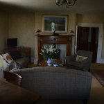 Our very comfortable refurbished  guests lounge in the farmhouse