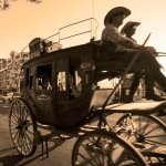 Old West carriage rides