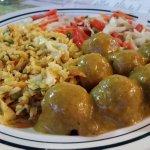 Curry tofu balls