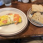 Disgusting lox omelet -don't pick this one!