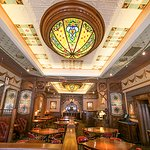 The dinning room of the Mahogany Grille