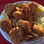 Fried Scallop Platter