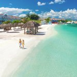 This beach retreat is set along Jamaica's largest private white-sand beach on the North Coast.