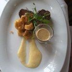 The steak (€30)