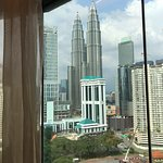 Remember to ask for the room facing KLCC