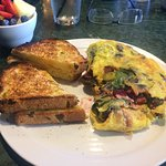 Great Omelet and Toast