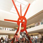 NorthPark Center has many world-class artworks on view, such as Ad Astra by artist Mark di Suver
