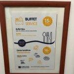 Condiciones del Buffet