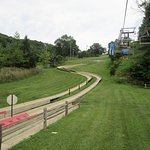 The end of the Alpine Slide