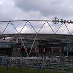 Das Stadion von außen