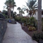The very scenic walkways around the grounds