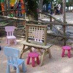 nouvel espace jeux en bois