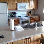 Kitchen area / 2 BR unit