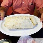 Mimi's Burrito is huge!