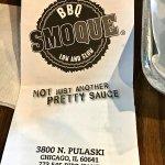 BBQ Smoque Menu
