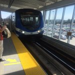 Canada Line at YVR Airport