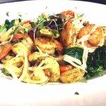 Great Early Bird Specials- Shrimp Artichoke Peato Pasta-Boar's Head Restaurant PCB