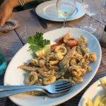 Grigliata di pesce poi fritto misto risotto alla pescatori