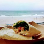 Chicken Wrap (with a view)