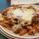 Green chili cheese fries!