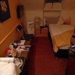 Das erste kleine Zimmer mit dem Klimagerät ohne Schlauch
