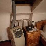 Das Klimagerät im zweiten Zimmer