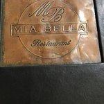 Mia Bella Menu