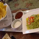 Guacamole with chips, Chips are not fresh and taste awful too!!