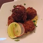 Conch Fritter, dry and maybe overcook. pretty bad