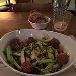 Great  falafel avocado salad!!