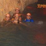 En el Río Subterraneo
