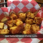 Bacon cheese curds
