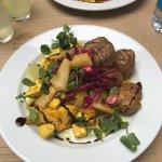 Vegetarian lunch delight