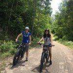 Mountain Biking for Adirondack Challenge Day 21017