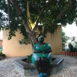 famous statue of a chi chi (big sister) in hotel area