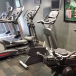Fitness center with lots of equipment