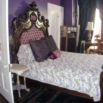 $135 B & B Master Suite main room French style antique queen bed